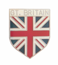 Great Britain Union Jack Shield Badge